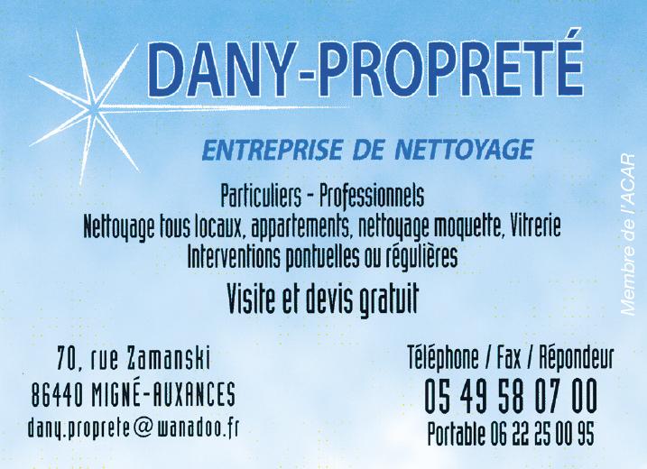 Dany Proprete