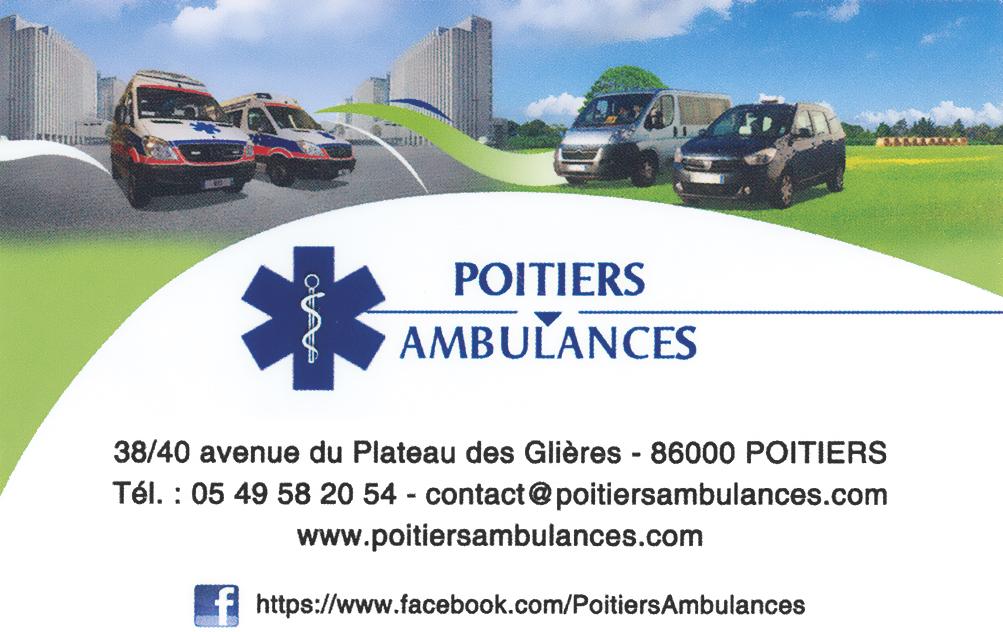 Poitiers ambulances