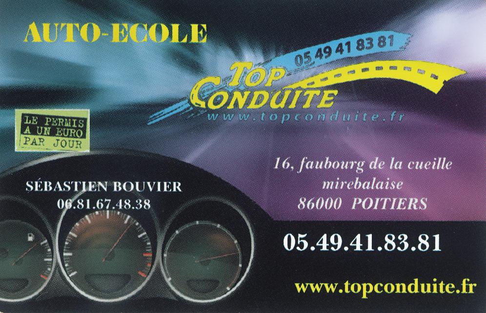 Top Conduite